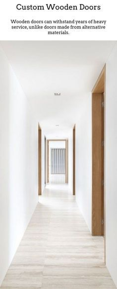 Love the timber door frame Timber Door, Wooden Doors, Interior Architecture, Interior And Exterior, Interior Doors, Design Hall, Hotel Corridor, Architrave, Windows And Doors