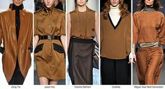 Toffee - Offers variation from camel tints with golden brown undertones Photo: Fashion Snoops