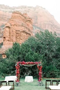 Enchantment Resort Outdoor Wedding Reception At Sedona Venue Plans Pinterest Venues Resorts And Weddings