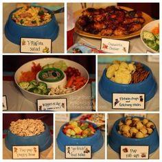 Paw Patrol food ideas.