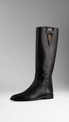 07361742af692 Check Detail Riding Boots