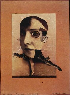 "3wings: "" Russische Tanzerin (russian dancer), photomontage, 1928 Hannah Höch """