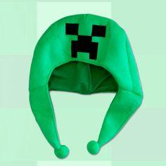 Gorro tipo Beanie Minecraft. Creeper Gorro tipo beanie del personaje de  Creeper 0b29cd6f5bf