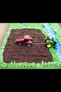 41 Best Tractor Birthday Cakes Images