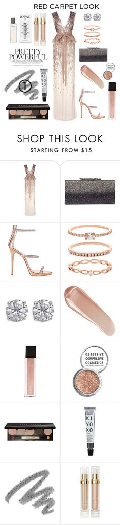 """""""GG"""" by valsilva ❤ liked on Polyvore featuring Monique Lhuillier, Jimmy Choo, Giuseppe Zanotti, Accessorize, CZ by Kenneth Jay Lane, NARS Cosmetics, Jouer, Obsessive Compulsive Cosmetics, Bobbi Brown Cosmetics and Yves Saint Laurent"""