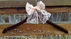 Personalized Hangers by LauraDianeDesigns on Etsy, $25.00