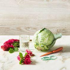 Cabbage Flower Centerpiece Materials