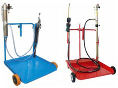 Heavy-duty Mobile Oil Kit drums of 180 to 220kg