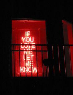 """Let me know, let me know, let me know."" #love"