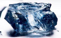 Largest blue diamond - so far... from Cullinan/Petra mine near Pretoria South Africa