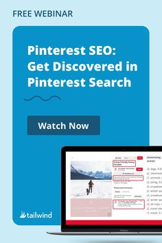 Discover the secret to Pinterest traffic with Tailwind's new webinar! Dissecting insights direct from Pinterest, you'll learn to find and use the best hashtags for your content, appeal to your audience for more clicks, and make sure that your SEO is working! Watch for free when you enter your email address. Pinterest Marketing, Social Media Tips, Email Address, Hashtags, Seo, Insight, Content, Learning, Watch