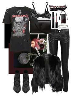 """""""Untitled #463"""" by c00ksie ❤ liked on Polyvore featuring Cartier, Yves Saint Laurent, Fallon, And Finally, Elizabeth and James, L'Agent By Agent Provocateur, Giorgio Armani and NARS Cosmetics"""