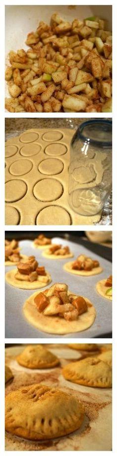 Salted Carmel Apple Hand Pies    http://eatingmyfeelings.com/2013/10/31/salted-carmel-apple-hand-pies/