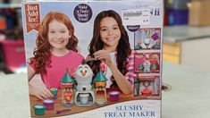 Frozen II Slushy Maker-$9.50 #gentlyused #buysellrepeat #baby #infants #toddlers #fayettevillemoms #fortbraggnc #fayettevillenc #children #kids #onceuponachildfayettevillenc Slushy Maker, Slushies, Infants, Toddlers, Great Gifts, Frozen, Tasty, Treats, Toys