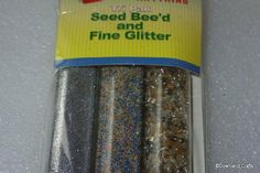 Silver Seed Bead & Glitter Pack
