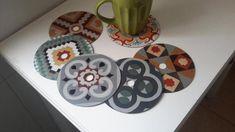 Fazer porta-copos com CDs