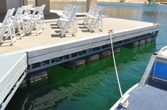 The decking is made of a composite of rice hulls and recycled plastic, and the exterior stucco contains recycled tire particles.