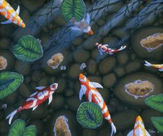 1000 images about koi ponds and fake koi crafts on for Artificial koi fish for ponds