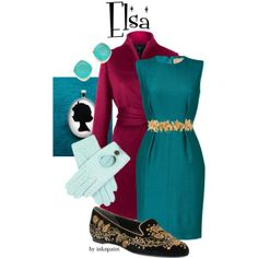 Disney outfit inspired by Elsa's Coronation outfit in Frozen