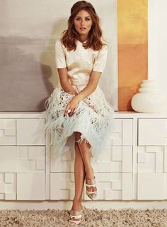 Style Muse: Olivia Palermo for Marie Claire | Brunch at Saks