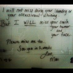 College love note for my daughter