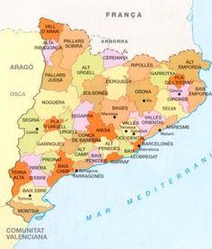 Mapa De Les Comarques De Catalunya I Capitals.13 Best Teaching Medi Social Images In 2014 Teaching