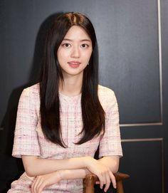 Hyun Soo, Kdrama Actors, Pent House, Interview, Short Sleeve Dresses, Sari, Blouse, Women, Dramas