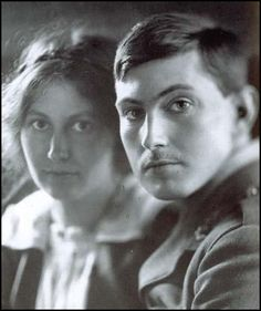Ruth Mallory and George Mallory in 1916 from Spartacus Educational blog.