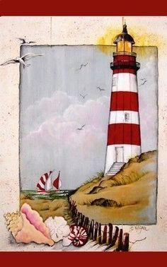 keeper of the lighthouse print Beth Wagner