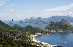 Turismo de aventura - Voar de parapente no Rio de Janeiro