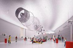 EDP cultural centre, lisbon by AL_A amanda levete architects