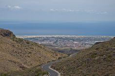 Gran Canaria -Berge Strand Meer Gran Canary - Mountains Beach Ocean
