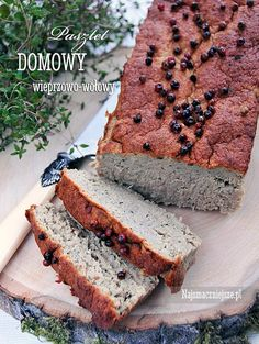 Pasztet wieprzowy Polish Recipes, Banana Bread, Sausage, Dips, Homemade, Desserts, Food, Canning, Rezepte