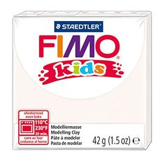 Staedtler Fimo Kids OvenBake Modeling Clay 15 oz White ** Continue to the product at the image link.