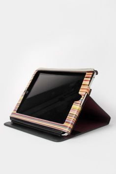 Paul Smith Signature Stripe Interior iPad Case Black