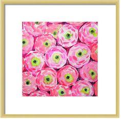 Limezinnias Design  https://www.etsy.com/listing/181096516/watercolor-pink-flower-art-print-floral