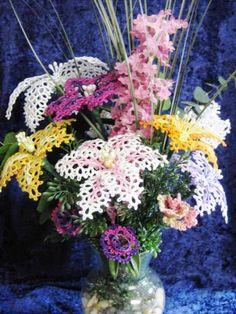 Цветы в технике фриволите. Обсуждение на LiveInternet - Российский Сервис Онлайн-Дневников