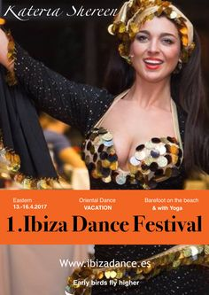 Welcome to our 1st Ibiza Festival by the beach, with Katerina Shereen , Nur Banu and Paula Palmares and more, with Yoga and healthy food !