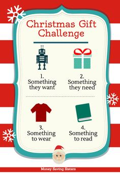 Buy you children ONLY these 4 items for Christmas...Something to consider this year!