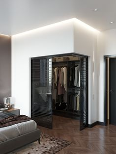 Home Room Design, Dream Home Design, Home Interior Design, Modern Bedroom Design, Wardrobe Room, Wardrobe Design Bedroom, Dressing Room Design, Luxurious Bedrooms, House Rooms