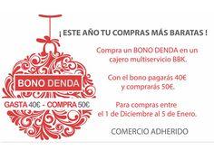 Gasta tu #BonoDenda con nosotros!