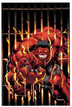 Red Hulk // artwork by Ed McGuiness