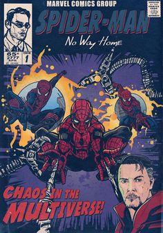 Spiderman Poster, Avengers Poster, Spiderman Art, Amazing Spiderman, Marvel Movie Posters, Comic Poster, Marvel Comics Art, Marvel Movies, Poster Marvel
