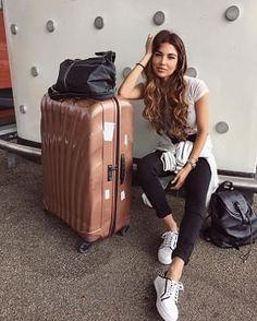 海外旅行・機内のおすすめ楽でオシャレなファッションコーディネート