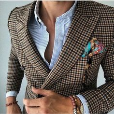 "Men's Fashion on Twitter: ""Plaid blazer!! https://t.co/FwkiF3IFjz"""