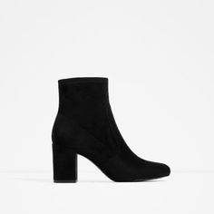 ELASTIC HIGH HEEL ANKLE BOOTS-View all-SHOES-WOMAN | ZARA United States