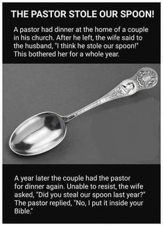 The Pastor Stole Our Spoon! What's April exactly why is it a joke, Funny Christian Memes, Christian Humor, Christian Life, Christian Living, Church Jokes, Church Signs, Religious Jokes, Bible Humor, Bible Quotes