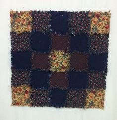 Flannel Raggy Senior's Lap Quilt