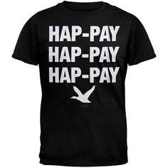 Duck Dynasty - Hap-Pay Hap-Pay Black T-Shirt