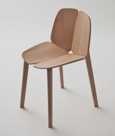 Osso Chair designed by French designers Ronan & Erwan Bouroullec for the Italian brand Mattiazzi